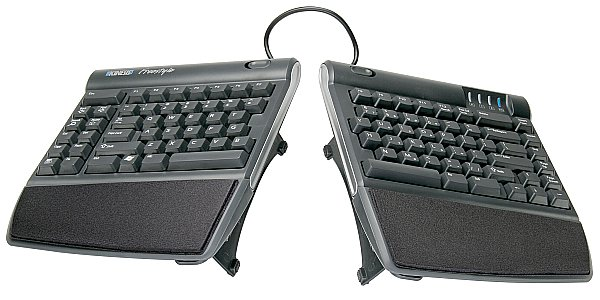 629373a323d Kinesis Freestyle2 Ergonomic Keyboard w/ VIP3 Lifters for PC ...